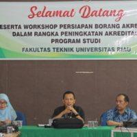 Workshop Borang Akreditasi Fakultas Teknik UR