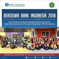 Beasiswa Bank Indonesia 2018