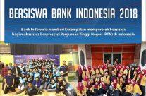 Beasiswa Bank Indonesia 2018