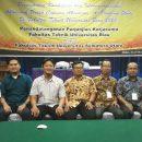 Rapat Kerja dan Koordinasi Pengembangan Fakultas Teknik Universitas Riau Tahun 2018