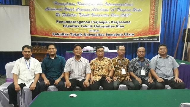 Tim peserta rakorbang Jurusan Teknik Elektro Fakultas Teknik Universitas Riau.