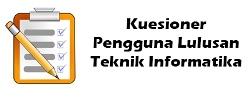klik untuk mengisi kuesioner pengguna lulusan