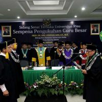 Prof Dr Eng Azridjal Aziz ST MT, Guru Besar dari Fakultas Teknik