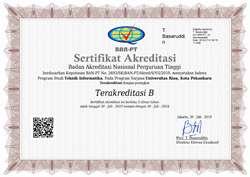 Sertifikat Akreditasi Teknik Informatika UNRI